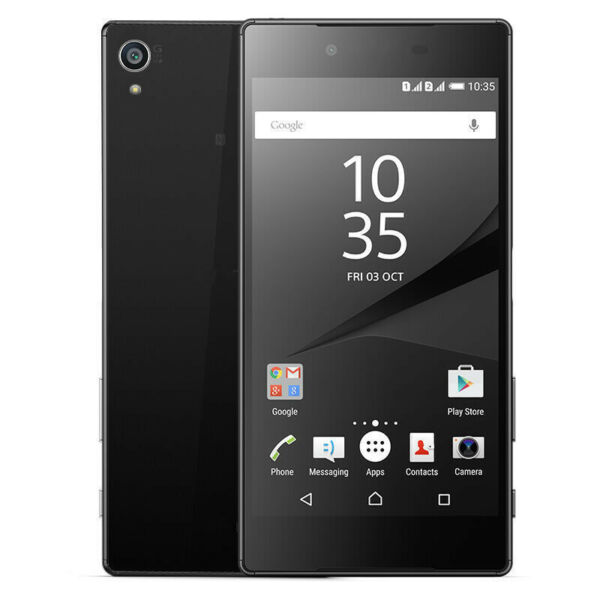 Sony Xperia Z5 E6653 32GB GSM SIM Free Smart Phone 23MP Nero