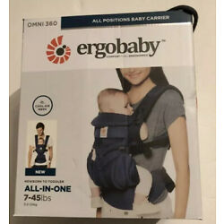 Kyпить Ergobaby Omni 360 All In One Cool Air Mesh Baby Carrier Midnight Blue BRAND NEW на еВаy.соm