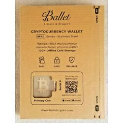 Kyпить 【 Bitcoin 】 Ballet Cryptocurrency Wallet - Offline Cold Storage - Non-electronic на еВаy.соm
