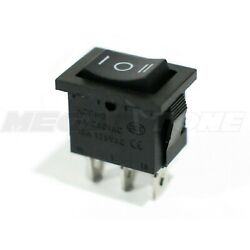 1PC SPDT Mini Rocker Switch Momentary (On)-Off-(On) KCD1 6A/250VAC - USA SELLER!