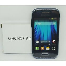 Rare Samsung S-6310 Deep Blue Cell Phone Store Model Non-Working Display Prop