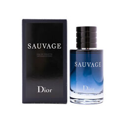Sauvage by Christian Dior 2 oz EDT Cologne for Men New In Box