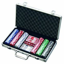 Kyпить Bo Toys 300 Chip Dice Style Poker Set in Aluminum Case (11.5 Gram Chips), 2 на еВаy.соm