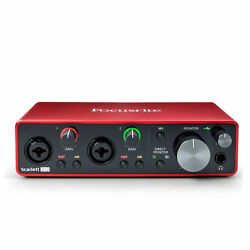 Kyпить Focusrite Scarlett 2i2 2 In 2 Out USB Audio Interface 3rd Generation на еВаy.соm