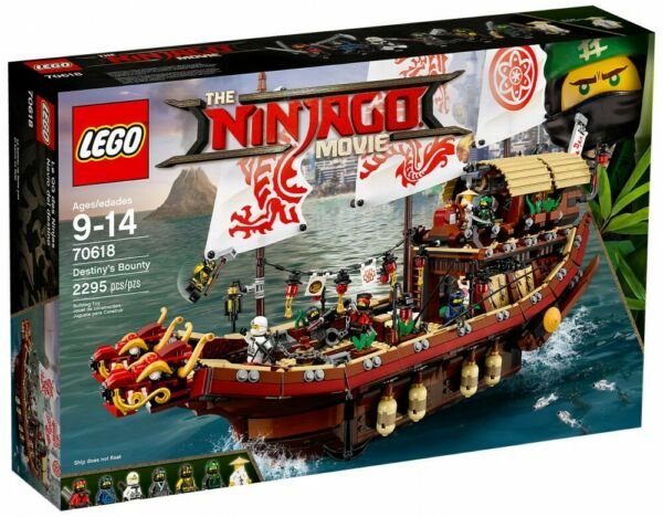 Bodilis,FranceSet LEGO THE NINJAGO MOVIE réf: 70618 - DESTINY'S BOUNTY - NEUF scellé