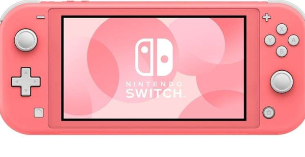 NINTENDO SWITCH LITE, Console da Gioco Portatile CORALLO 14 cm 5.5 Touch screen