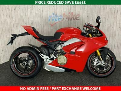 DUCATI PANIGALE V4 S 1103CC ABS DTC GENUINE LOW MILEAGE 2019 19