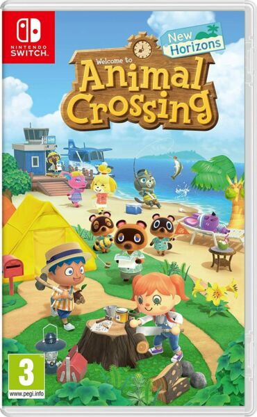 NINTENDO SWITCH NEW HORIZONS GIOCO ANIMAL CROSSING NUOVO ORIGINALE ITALIANO