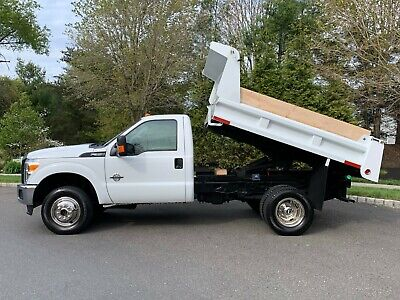 2011 FORD F350 4X4 6.7L DIESEL MASON DUMP ONLY 82K MILES LIKE NEW  BUY IT NOW