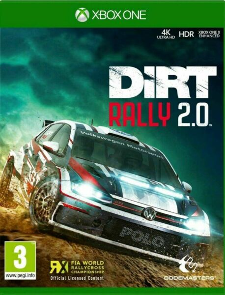 Dirt Rally 2.0 Xbox One (Digital Download/ONLINE) *NO CODE *NO DVD