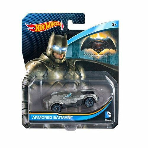 Royaume-UniHot Wheels Dc Comics - Batman V Superman - Blindé Batman - Asst. DKJ66 - DJM19