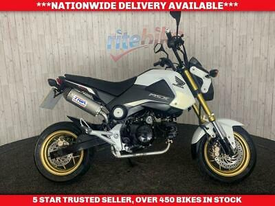 HONDA MSX 125 LEARNER LEGAL TYGA EXHAUST 12 MONTH MOT 2015 15