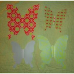 AVON*Set of 4*Three dimensional Wall Butterfiles*Butterfly*Plastic