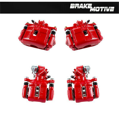 For 2002 2003 2004 2005 2006 ACURA RSX TYPE S Front & Rear Red Calipers