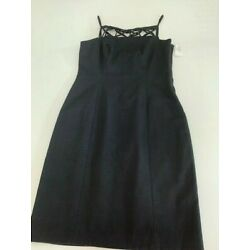 David Meister Black Dress Size 12 with tags