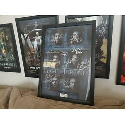 Kyпить SDCC 2016 Game Of Thrones Signed Autographed Poster на еВаy.соm