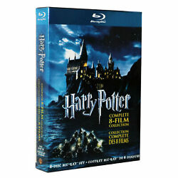 Kyпить Harry Potter: Complete 8-Film Moive Collection (Blu-ray Disc, 2011, 8-Disc Set) на еВаy.соm