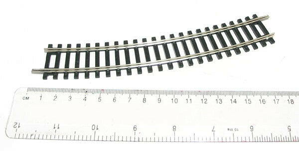 ItalieHornby Lima  R606 - Courbe 2nd Rayon 438 MM Arc 22,5 °+
