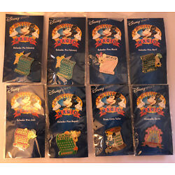 NEW Lot of 8 pins 12 Months of Disney Magic Assorted pins ALL OOC