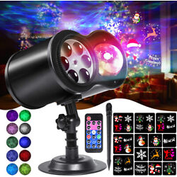 Kyпить Christmas Lights Projector LED Laser Outdoor Landscape Xmas Lamp 14 Patterns на еВаy.соm