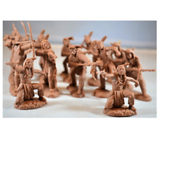 1:32 Plains Indian Warriors Set #13A Plastic Toy Soldiers of San Diego Figures