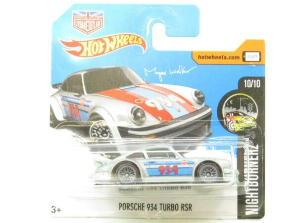 Royaume-Uni Porsche 934 Turbo Rsr Argent 68/365 Court Carte 1 64 Scale Scellé New