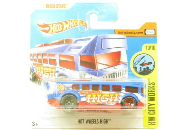 Royaume-Uni Hw City Fonctionne Hot Wheels Haut 93/365 Court Carte 1 64 Echelle