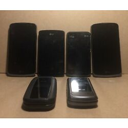Kyпить Lot Of 6 Used LG Cell Phones - Flip Phones, Android, Verizon - Varied Conditions на еВаy.соm