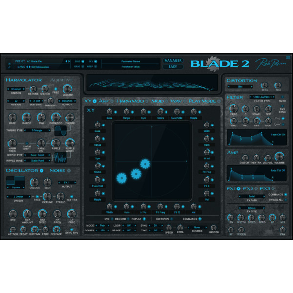 Royaume-UniRob Papen BLADE 2 Upgrade from BLADE 1 (Serial )