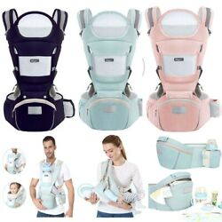 Kyпить Ergonomic Baby Carrier Infant Baby Hipseat Carrier Front Facing Kangaroo 0-48M  на еВаy.соm