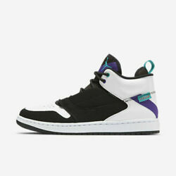 Kyпить Air Jordan Fadeaway Men's Basketball Shoes AO1329 035 Black White Concord NEW на еВаy.соm