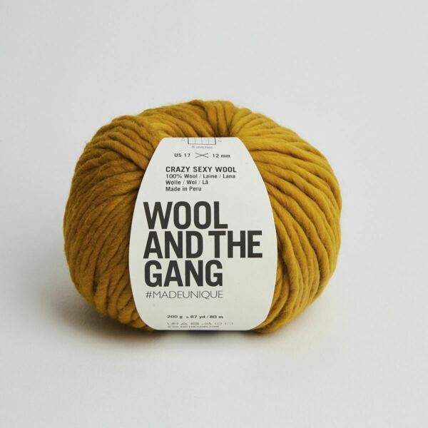 Royaume-UniWATG Wool And The Gang Fou Sexy Laine 200g 80m 79.6m - Bronzé Olive
