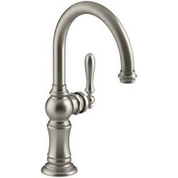 Kyпить Kohler K-99264-VS Artifacts Single-Handle Bar Faucet with Swing Spout, Stainless на еВаy.соm