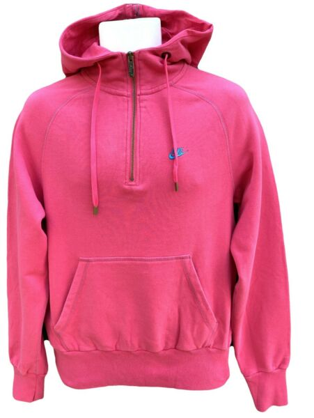 Royaume-UniNeuf Nike Sportswear NSW Hommes  Organique Coton Slim Capuche ROSE S