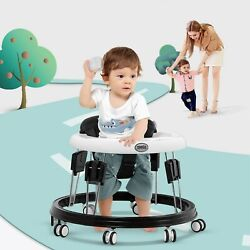 Kyпить Baby Walker Foldable Adjustable Seat Music Function Toddler Activity Toys Tray на еВаy.соm