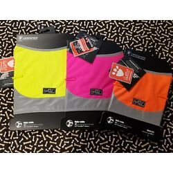 NWT ~ HURTTA COLLECTION ~ HIGH-VISIBILITY DOG MICRO VEST ~ VARIOUS SIZES