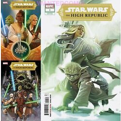 Kyпить STAR WARS HIGH REPUBLIC #1 ALL 3 COVER HANS VARIANT A & B COMIC LOT SET 1/6/2021 на еВаy.соm