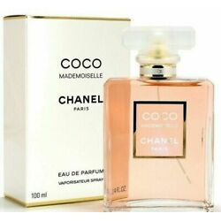 Kyпить Chanel Coco Mademoiselle Eau De Parfum 100ML / 3.4OZ New  на еВаy.соm