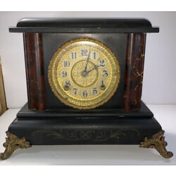 Kyпить ANTIQUE GILBERT MANTLE CLOCK на еВаy.соm