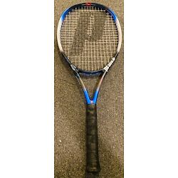 Kyпить Prince Thunder Cloud Long Body Titanium OS 110 Head 800 PL Racquet Racket 4-3/8
