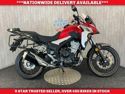 HONDA CB500X CB 500 X ABS MODEL ADVENTURE BIKE ONE OWNER 2019 19