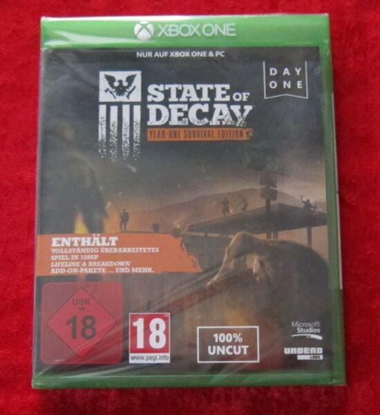 Freising,DeutschlandState of Decay Year One Survival Edition, XBox One USK 18 Spiel, Neu, deutsche V
