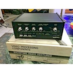 Kyпить SHOWLINE 7020/ 4 Channel-Video/Stereo In/Out Video Enhancer~Processor~Stabilizer на еВаy.соm