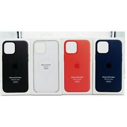 Kyпить Genuine Apple Silicone Soft Case with MagSafe for Apple iPhone 12 Pro Max 6.7