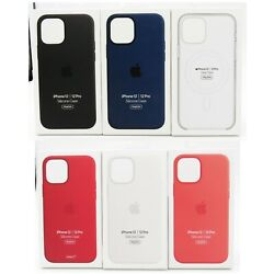 Kyпить Genuine Apple Silicone Soft Case with MagSafe for Apple iPhone 12  iPhone 12 Pro на еВаy.соm