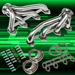 Fits Ford 330/360/390-428 Big Block FE Shorty Headers Exhaust Manifold Stainless