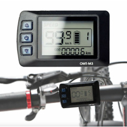Kyпить EBike Electric Bicycle Scooter  LCD Display Panel OMT - M3 на еВаy.соm
