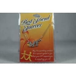 'bff' Best Friend Forever By DMM Childs Necklace With Pendant #JFY-NEK NEW Pkg