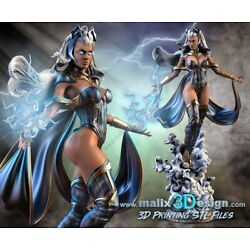 Kyпить Marvel's Storm 1:10 Resin Model Kit X-men  на еВаy.соm