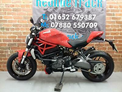 "2017 DUCATI MONSTER 1200 1000 MILES FROM NEW TERMIGNONI EXHAUST ""OUT OF THE BOX"""
